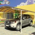 №18 Навесы для автомобилей из поликарбоната