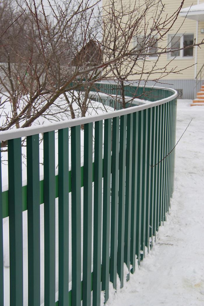 Металлический штакетник АТАНТ впервые в России