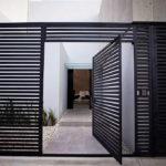 Горизонтальный забор из металлической доски длинной до 12 метров #11