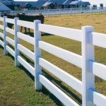 Горизонтальный забор из металлической доски длинной до 12 метров #23