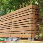Горизонтальный забор из металлической доски длинной до 12 метров #49