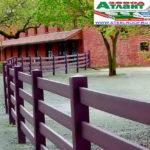 Горизонтальный забор из металлической доски длинной до 12 метров #65