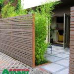 Горизонтальный забор из металлической доски длинной до 12 метров #72