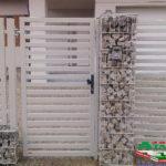 Горизонтальный забор из металлической доски длинной до 12 метров #78