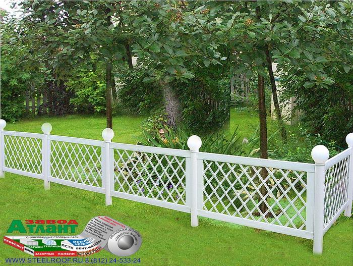 Садовые заборы и ограждения фото - Садовые ограждения: заборы, ограды, бордюры, живые изгороди