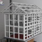 Каркас Здания из ЛСТК завода Атлант №6