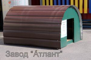 будка для собаки утепленная
