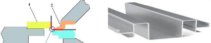 Гибка металла позволяет металлическим заготовкам придавать изогнутую форму без сварочных работ.
