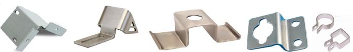 примеры изготовленных деталей методом гибки металла