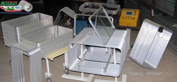 Радиусная гибка профиля из алюминия для раздвижных окон кабины колесного трактора К-700 «Кировец».